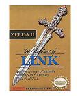 Zelda II: The Adventure of Link Nintendo NES Video Games