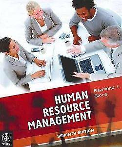 Human Resource Management by Raymond J. Stone 7th Edition Waterloo Inner Sydney Preview