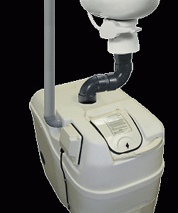 Sunmar centrex 1000 non electric with toilet