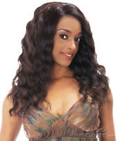 NEW BORN FREE SYNTHETIC LACE FRONT WIG - 1B