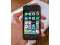 iPhone 4S Black 32 GB (UNLOCKED) in excellent condition