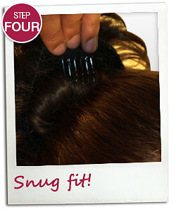 iCraveBeauty - How to fit the Big Round - Step 4 Snug fit