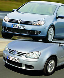 VW Golf Front - neues vs. altes Design