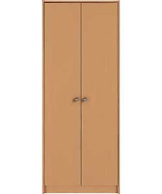 Seville 2 Door Wardrobe - Beech Effect