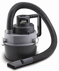 Chicago Power Tools  12-Volt Wet/Dry Portable Vacuum Cleane