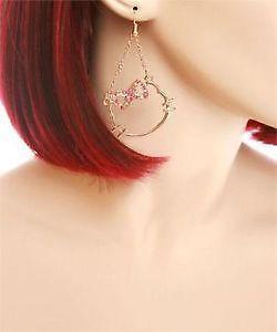 5106e9c90 Hello Kitty Earrings   eBay