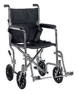 New in Box Transport Wheelchair Very light weight T :647-781-898
