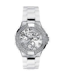 Guess Rose Gold Diamond Watch