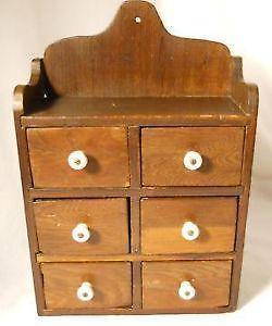 Vintage Spice Cabinets