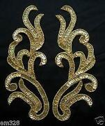 Gold Sequin Applique