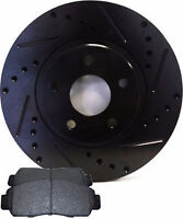 HHR SSR Chevrolet OE, Slotted, Cross Drilled Rotor Chevy Pad HD