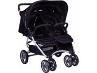 Red kite double pushchair