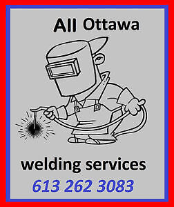 "afordable welding repairs-- first 7"" free will donation"