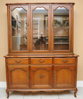 Buffet/Hutch, Gibbard, Cherry wood - French-country style!