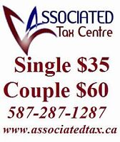 INCOME TAX Return Preparation and E File $35 Single, $60 Couple