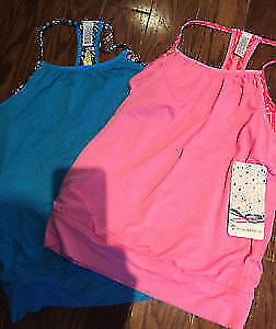 Ivivva Sz 12 Double Dutch Tanks New with Tags I Ship