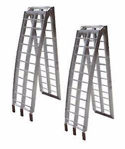 Quad Bike Aluminum Folding (Pair) Ramps For Sale Darch Wanneroo Area Preview