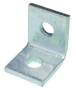 Unistrut P1026  Cross Corner Angle with  2-Hole - 90° Zinc Plated ( Pack Of 10 )