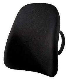 Obusforme By Homedics Lowback Backrest Support Home Office Car Lumbar Spine Ug