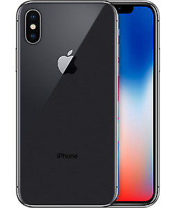 Very Good Condition iPhone X 64 GB (Black) + Cas