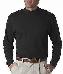 Mens mock turtleneck ebay for Mens mock turtleneck shirts