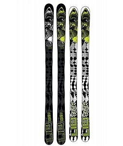 Awesome pair of LIB TECH 161 Pipe Skis with Salomon Bindings