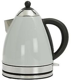Colourmatch Stainless Steel Dove Grey Jug Kettle