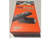 AMAZON FIRE TV STICK - BRAND NEW - 1000S OF MOVIES, TV SHOWS AND KIDS TV