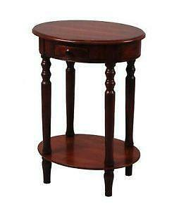 Bon Cherry Wood End Table