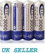 4 x AA Rechargeable Batteries