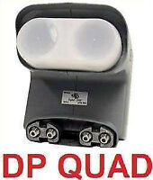 BRAND NEW DISH PRO QUAD LNB'S CAN RUN UP TO 4 RECEIVERS