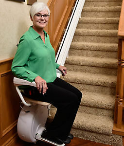 New and Recycled Straight and Curved Stair Lifts