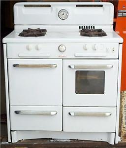 vintage rare 1950 039 s welbilt gas stove range oven white