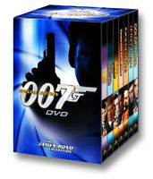 007 dvd james bond collection- 7 movies