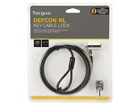 Overstock Clearance Bulk Targus Defcon KL - Laptop Notebook Security Cable Lock (108788)