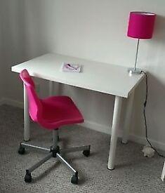 IKEA ADILS/LINNMON White Table