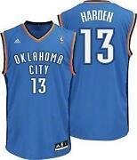 James Harden Thunder Jersey