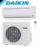 Ductless Heat Pump! Mini splits!