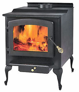 Timber Ridge Wood Stove, like new 2200-sq-ft (E.P.A.)