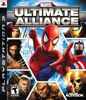 WaNTED: MARVEL Ultimate Alliance Playstation 3, PS3