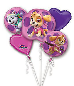 PAW PATROL & OTHER HELIUM BALLOON BOUQUETS BEST PRICES