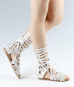 da791e976e7 Gladiator Sandals - Knee-High