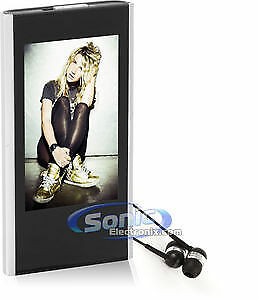Coby MP826-4GBLK 2.8 Inch LCD Touchscreen Video MP3 Player