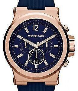 Michael kors mens watch in gold ebay michael kors mens watch silicone gumiabroncs Choice Image