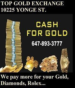 CASH FOR ROLEX WATCHES & ALL GOLD WE ARE MOBILE & COME TO YOU
