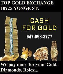 MOBILE CASH FOR GOLD & ROLEX WATCHES. I COME TO YOU