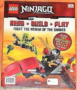 Brand New Lego Ninjago Read Build Play Set