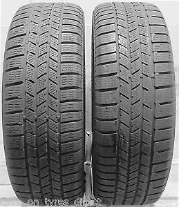 275/45R20 Set of 2 Continental Used Free Inst.&Bal.70%Tread Left