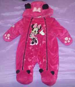 Minnie Mouse infant snowsuit 0-3 month. Brand new with tags.