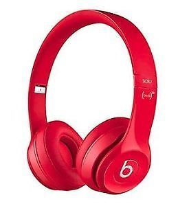 Beats by Dr. Dre Solo 2.0 On-Ear Headphones - RED London Ontario image 1